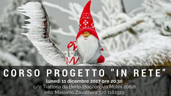 Corso Progetto In Rete - 11 dicembre 2017